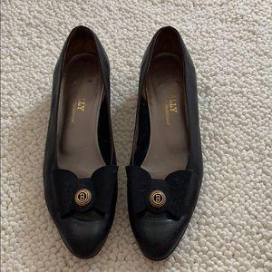 Vintage Bally Leather Heels 9.5
